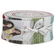 "Flourish - Jelly Roll by Piece N Quilt for Moda Fabrics - 40 x 2.5"" Fabric Strips"